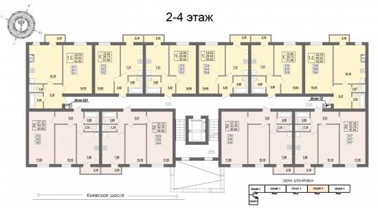 Планировочное решение квартир
