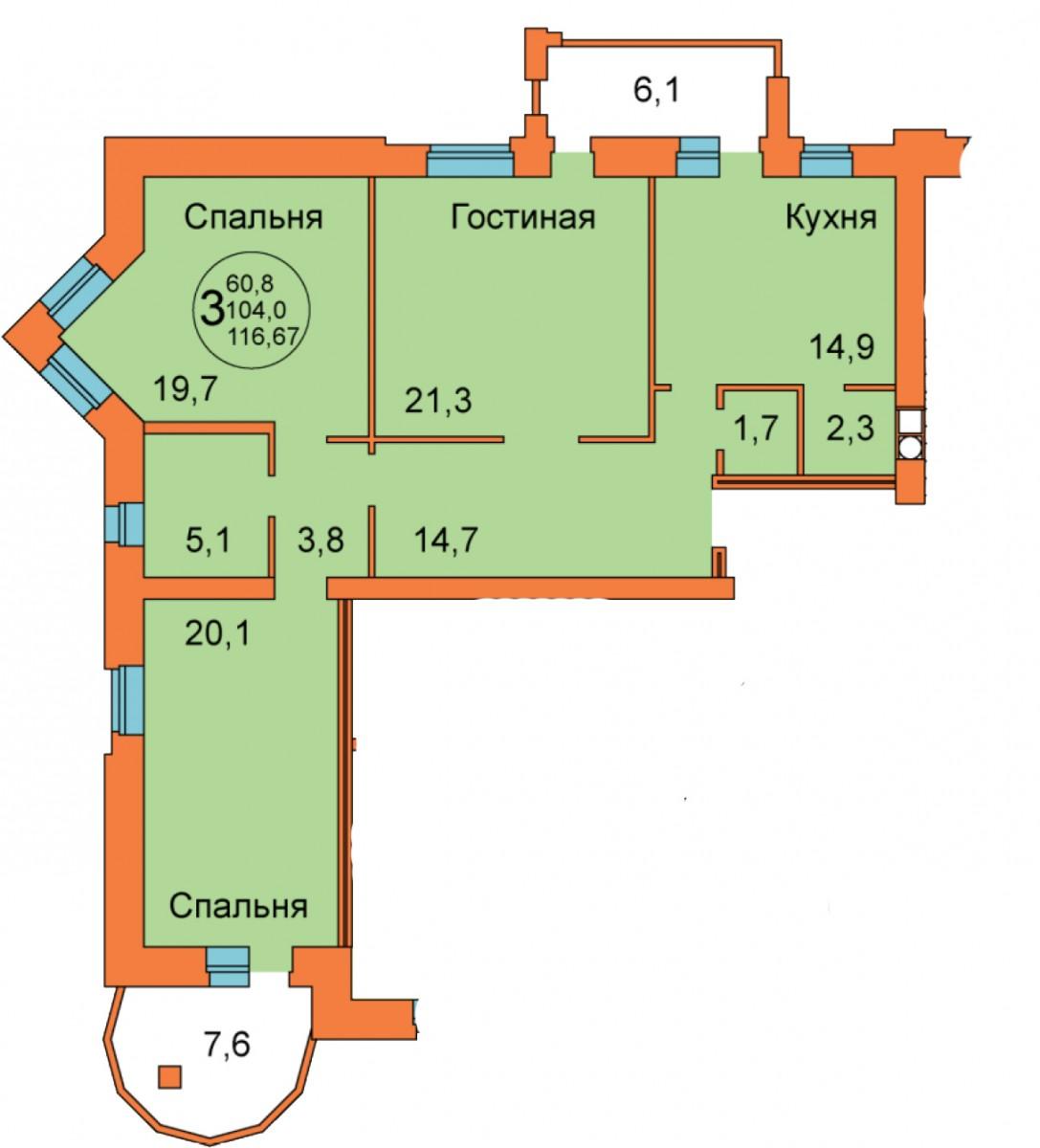 ул. Ленина д.15а, кв.12
