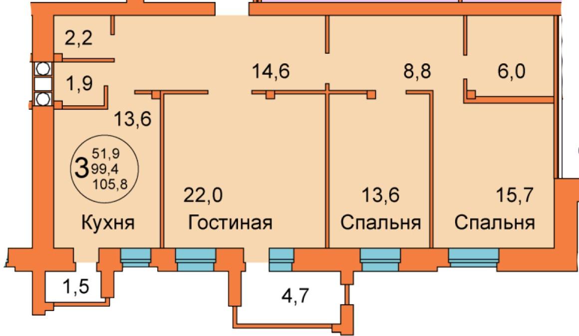 ул. Ленина д.15а, кв.17