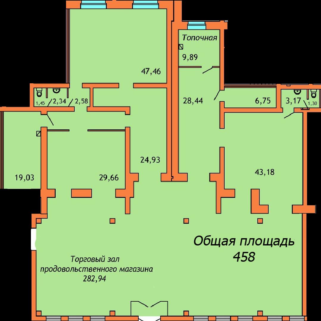 ул. Соколовского, д. 17, Офис 3