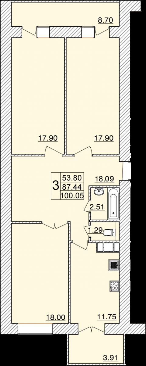 Колхозный переулок, д. 15г, кв.5