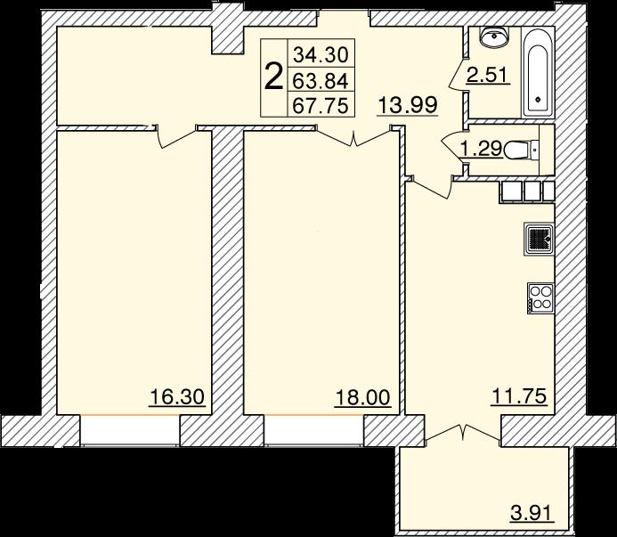 Колхозный переулок, д. 15г, кв.57