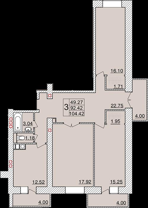 3-я линия Красноармейской слободы, кв.25