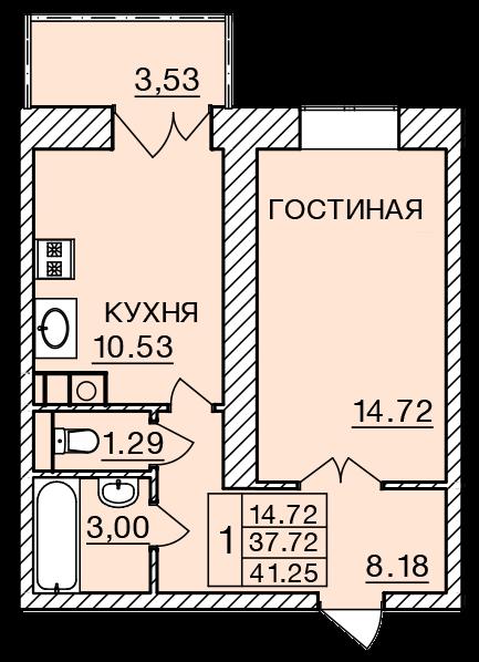 Киевское шоссе, д. 58, кв.447
