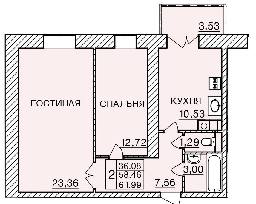 Киевское шоссе, д. 58, кв.165