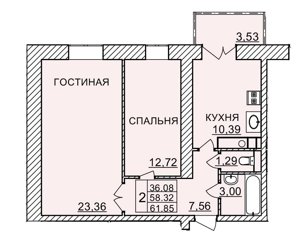 Киевское шоссе, д. 58, кв.181