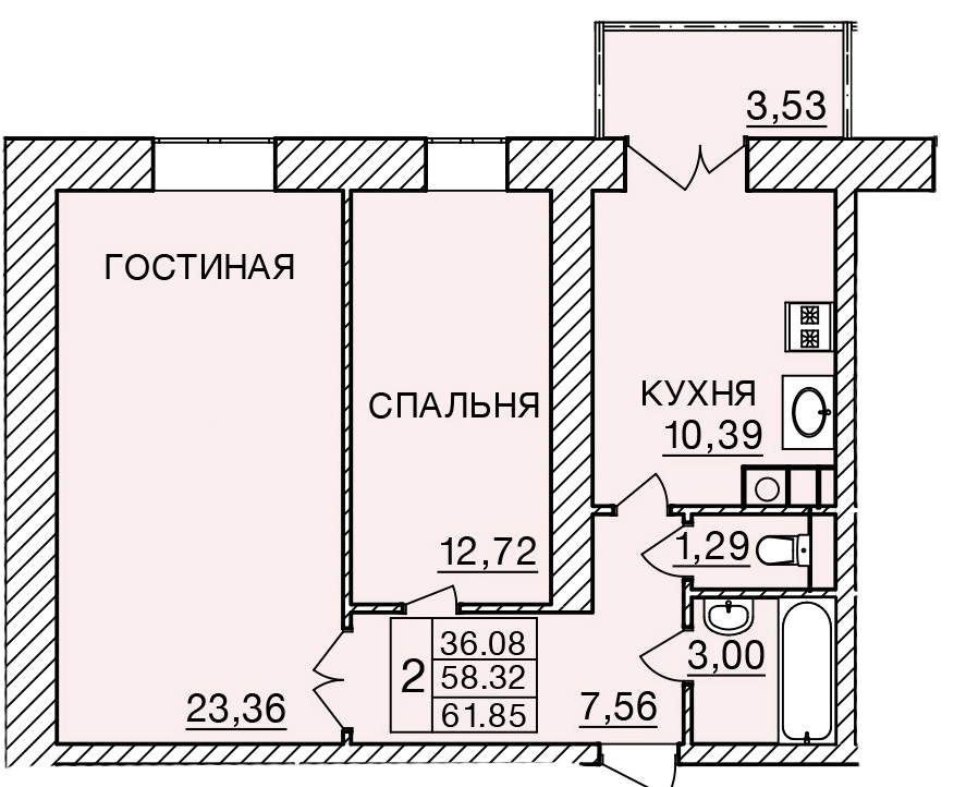 Киевское шоссе, д. 58, кв.173