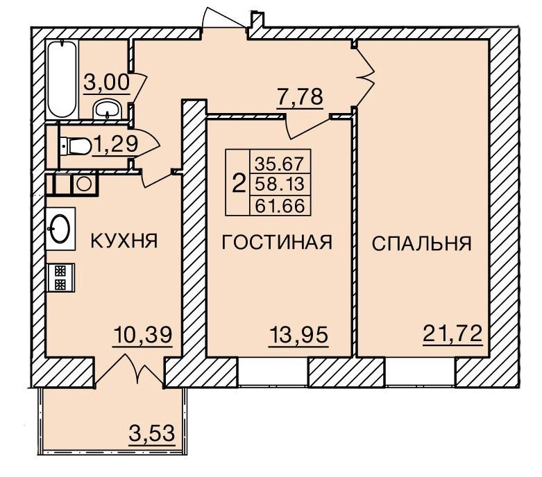 Киевское шоссе, д. 60, кв.81