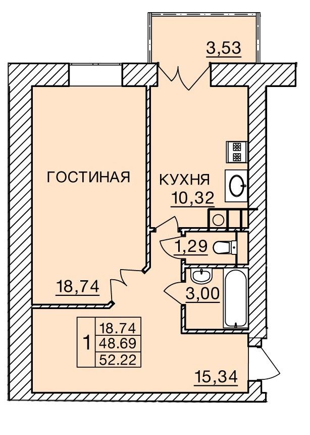 Киевское шоссе, д. 60, кв.92