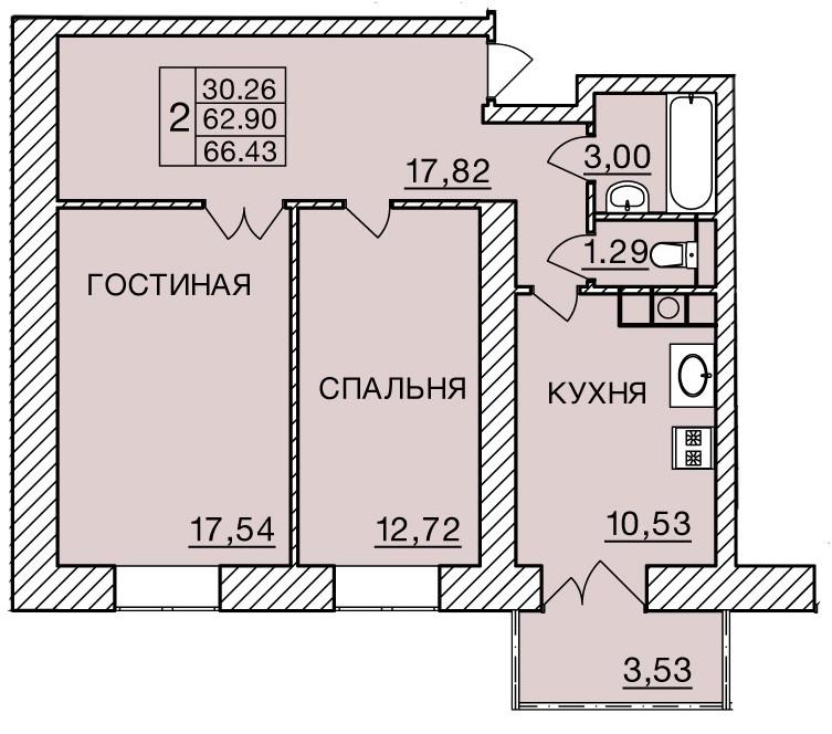 Киевское шоссе, д. 60, кв.183